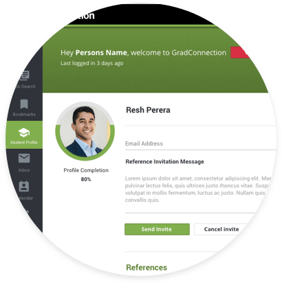 Graduate professional profile