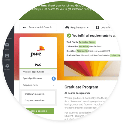 Graduate Job search engine
